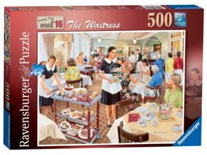 "Ravensburger ""The Waitress"" Puzzle-0"