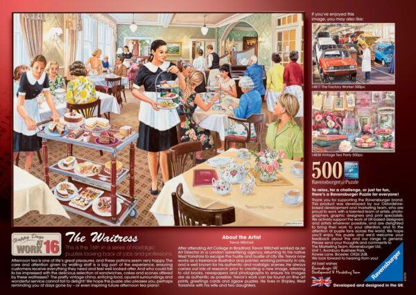 "Ravensburger ""The Waitress"" Puzzle"