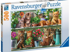 Ravensburger Cats On The Shelf Puzzle-0