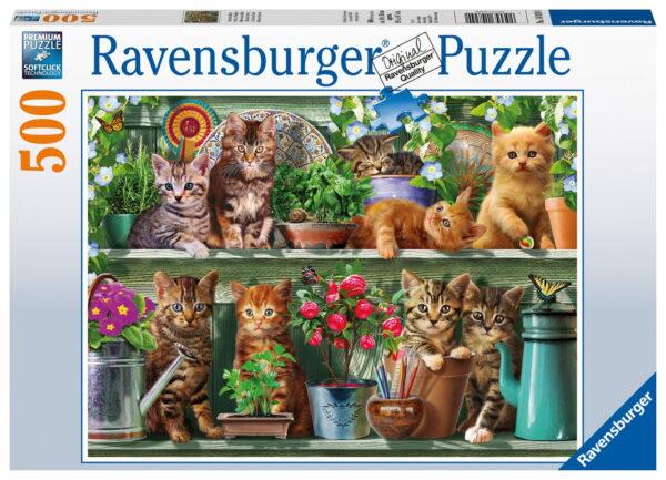 Ravensburger Cats On The Shelf Puzzle