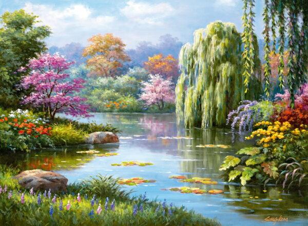 Ravensburger Romantic Pond View Puzzle