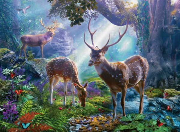 Ravensburger Deer in the Wild Puzzle