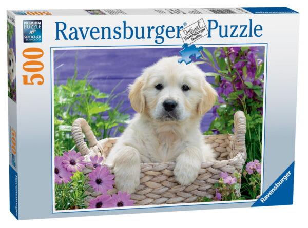 Ravensburger Sweet Golden Retriever Puzzle