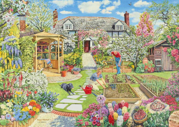 Ravensburger Gardening World Spring Puzzle