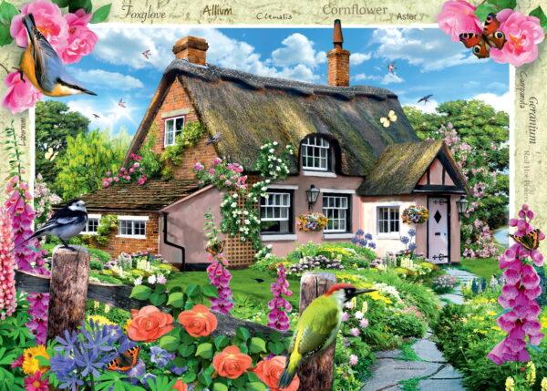 Ravensburger Foxglove Cottage Puzzle