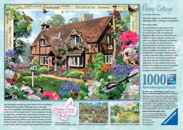 Ravensburger Peony Cottage Puzzle