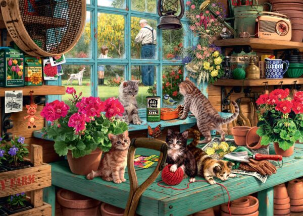 """Ravensburger """"Is He Watching?"""" Puzzle"""