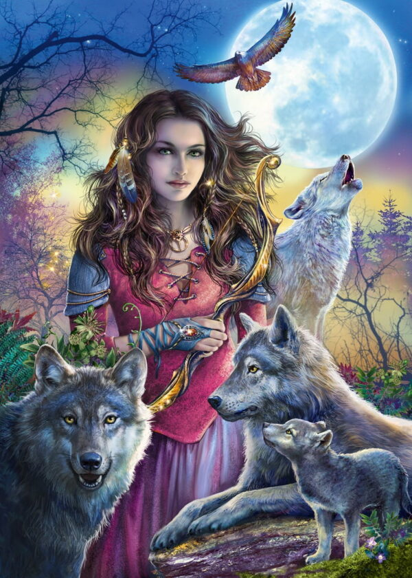 Ravensburger Protector of Wolves Puzzle-7287
