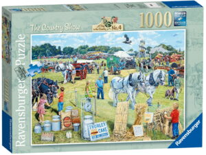 """Ravensburger """"The Sewing Shed"""" Puzzle"""