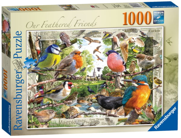 """Ravensburger """"Our Feathered Friends"""" Puzzle"""