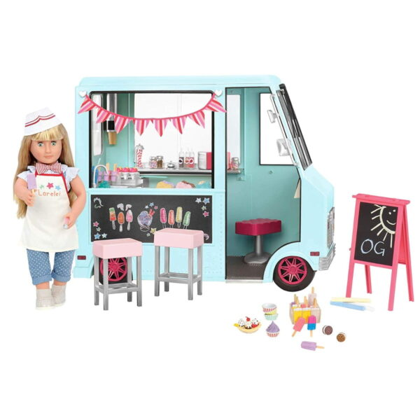 Our Generation Sweet Stop Ice Cream Truck-0