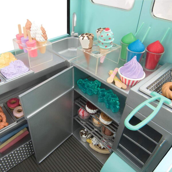 Our Generation Sweet Stop Ice Cream Truck-7139