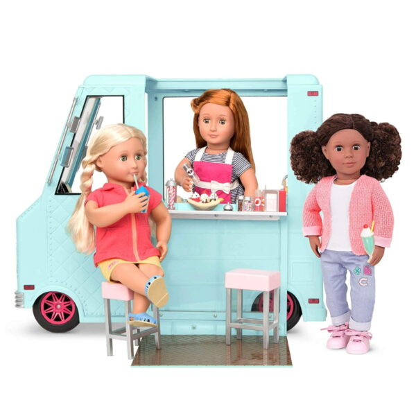 Our Generation Sweet Stop Ice Cream Truck-7134