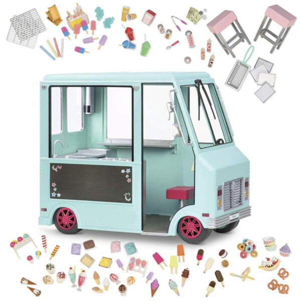 Our Generation Sweet Stop Ice Cream Truck-7136