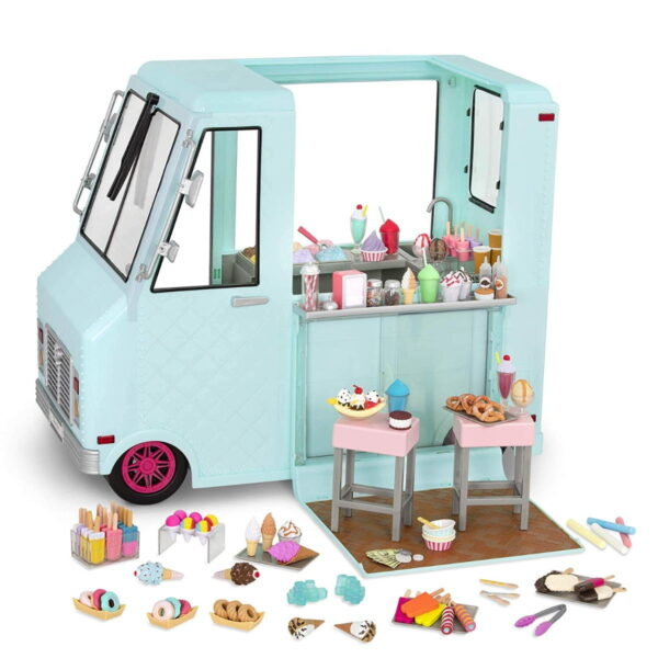 Our Generation Sweet Stop Ice Cream Truck-7135