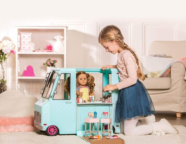 Our Generation Sweet Stop Ice Cream Truck-7138