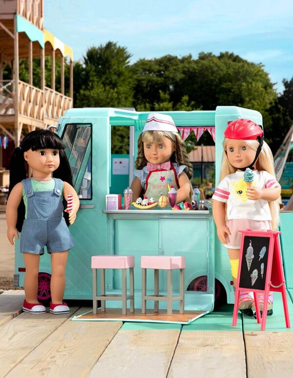 Our Generation Sweet Stop Ice Cream Truck-7141