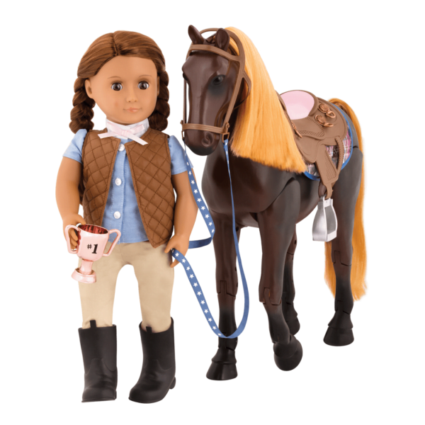 Our Generation Thoroughbred Poseable Horse-7243