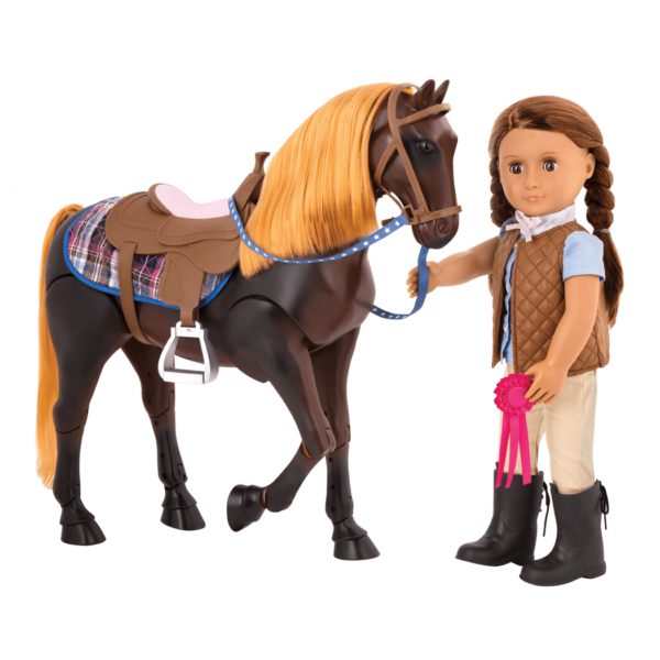 Our Generation Thoroughbred Poseable Horse-7242
