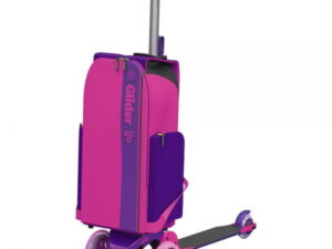 Yvolution Y Glider To Go XL Backpack Scooter Blue & Pink