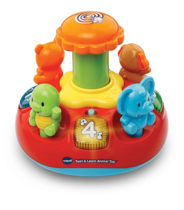 VTech Baby Push and Play Spinning Top