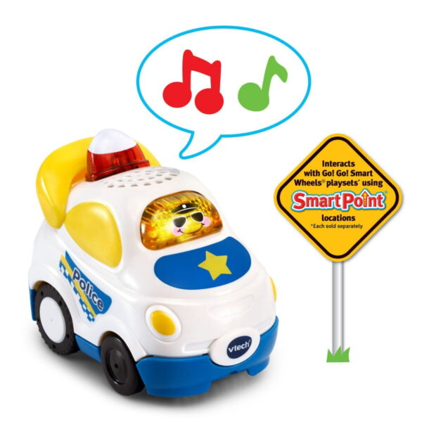 Vtech Go! Go! Smart Wheels RC SmartPoint Police Car