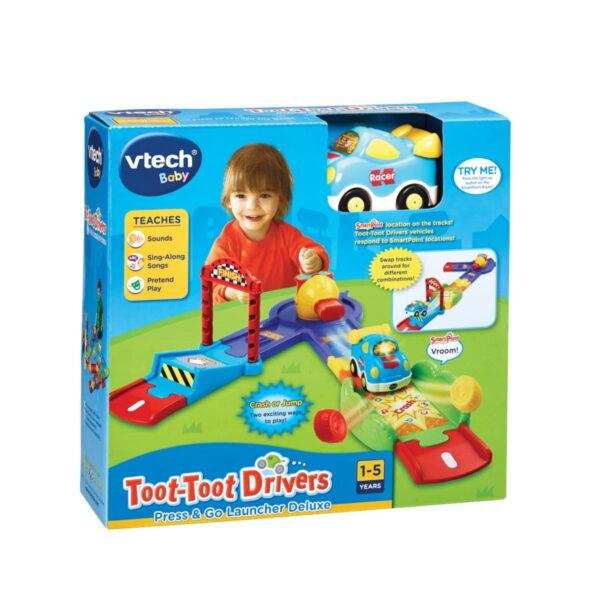 Vtech Toot-Toot Drivers Press & Go Launcher Deluxe