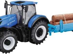 Tobar New Holland T7HD Tractor with Log Trailer