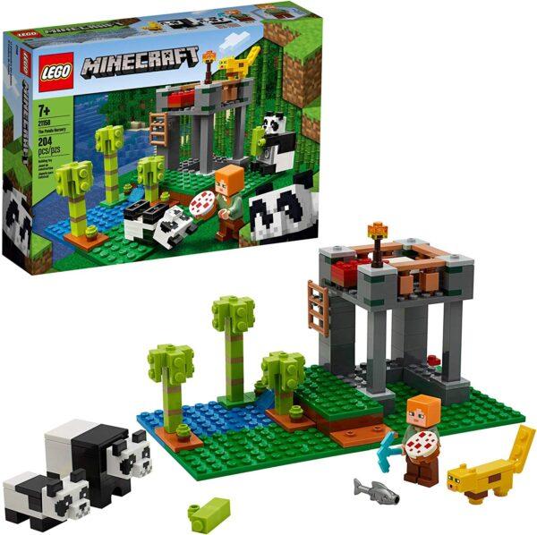 Lego Minecraft The Panda Nursery V29