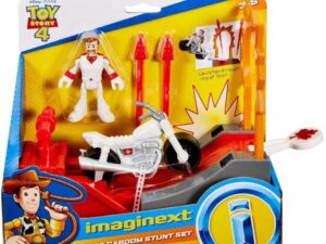 Imaginext Toy Story 4 Duke Caboom Stunt set