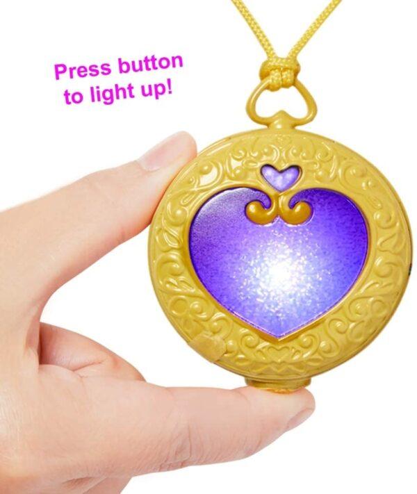 Polly Pocket Tiny Power Light Up Locket
