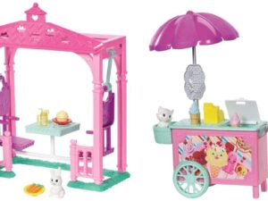 Barbie Chelsea Ice Cream Cart Doll and Playset