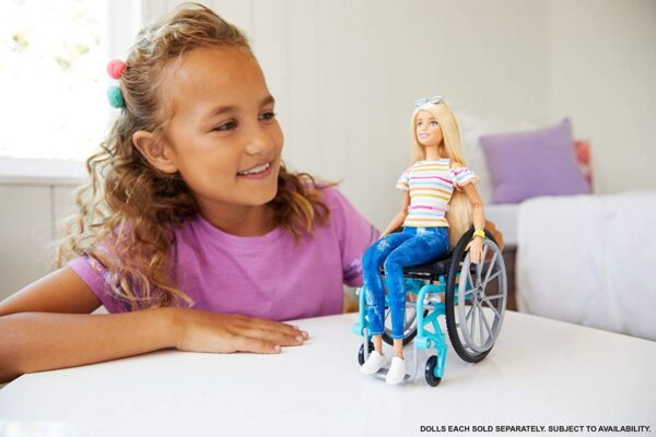 Barbie Wheelchair And Doll