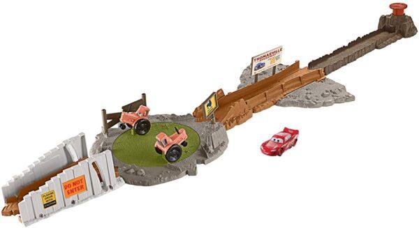Disney Cars Smokey Tractor Challenge Playset