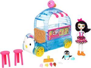 Enchantimals Preena Penguin Ice Cream Truck