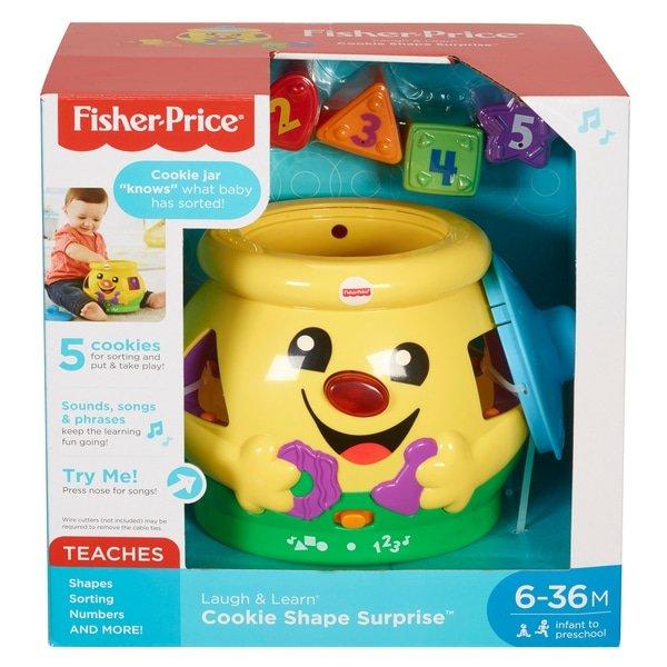 Fisher Price L&L Cookie Shape