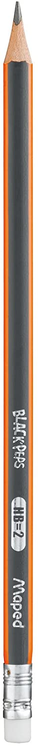 Maped Triangular Rubber Tipped Pencil HB