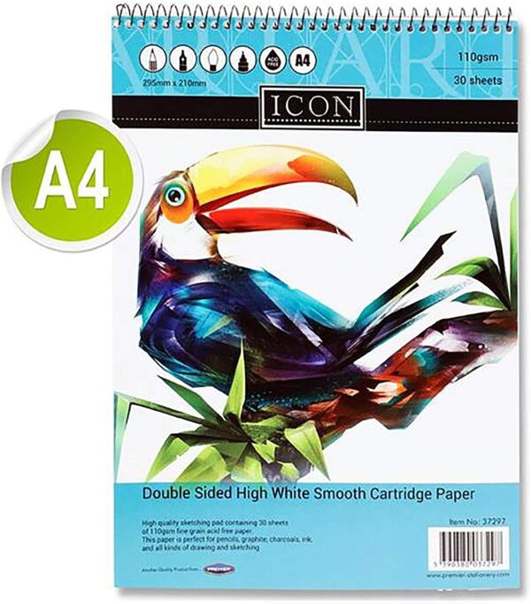 Icon Sketch Pad 30 Sheets A4