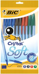 BIC 10 Cristal Ballpoint Pens Original