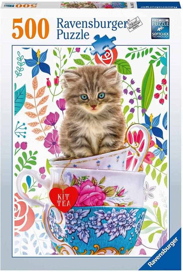 Ravensburger Teacup Kitty 500pc