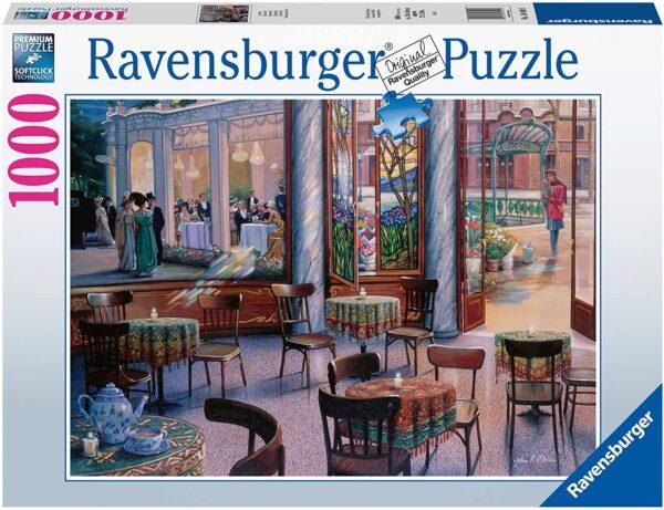 Ravensburger A Cafe Visit 1000 pieces