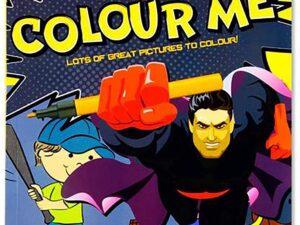 World of colour A4 48pg Colouring Book Boys