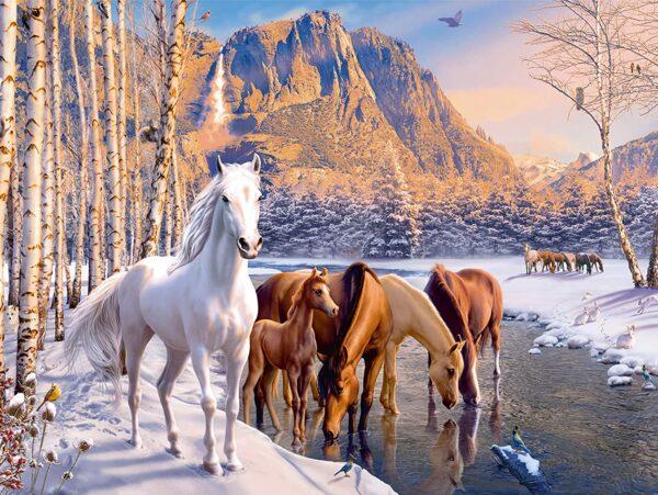 Ravensburger Winter Horses XXL
