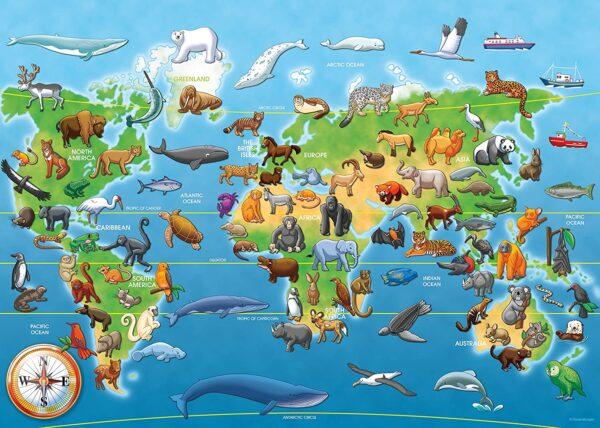 Ravensburger Endangered Animals Giant Floor Puzzle