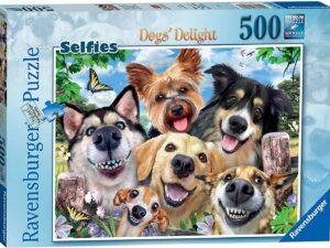 Ravensburger Selfies Dogs Delight 500 Piece