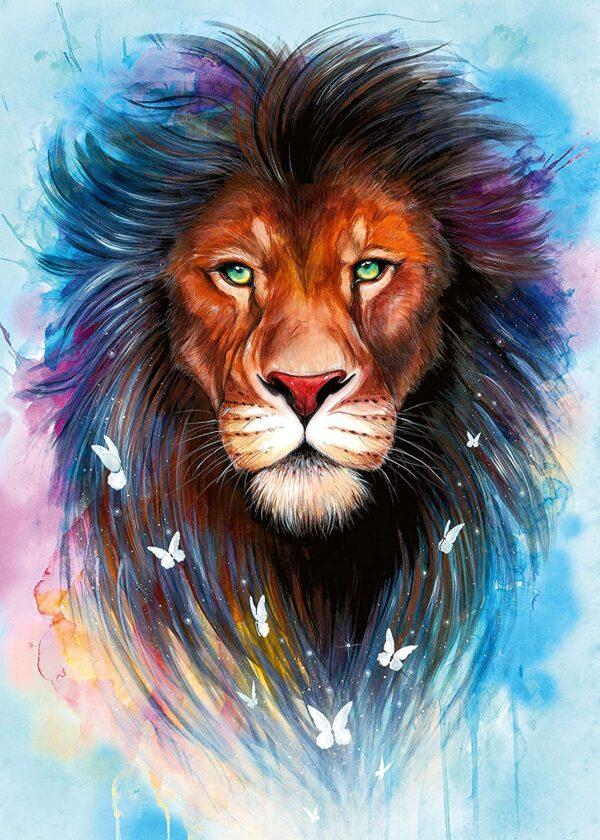 Ravensburger Majestic Lion 1000pc