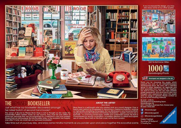 Ravensburger the Bemused Bookseller 1000pc