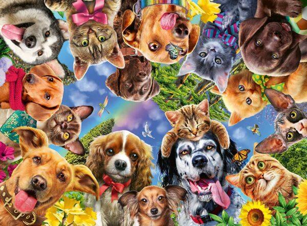 Ravensburger Animal Selfies 500pc