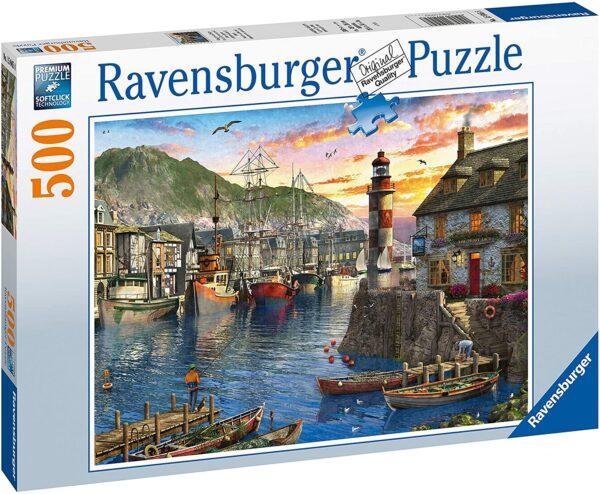 Ravensburger Sunrise At The Port 500pc