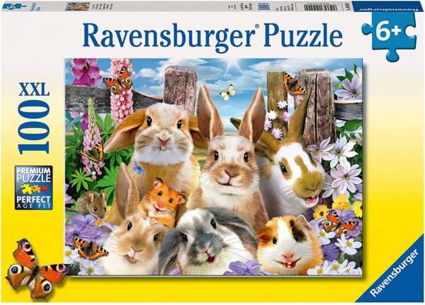 Ravensburger Rabbit Selfie XXL 100 piece